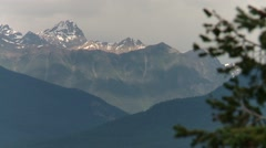 The Bugaboo Mountain range, British Columbia. Stock Footage