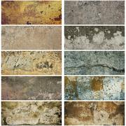 Texture grunge collection - stock photo
