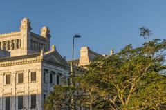 Stock Photo of Legislative Palace of Uruguay in Montevideo
