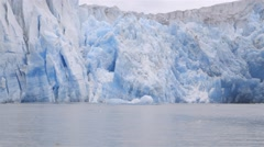 POV Traveling shot of a glacier in Greenland. Stock Footage