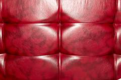 Buttoned on the red Texture. Repeat pattern Stock Photos