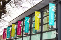 LONDON - JANUARY 21st: college of harringey enfield and north east london on  - stock photo