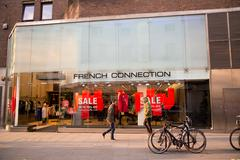 LONDON - JANUARY 22nd: The exterior of french connection on January the 22nd, - stock photo