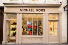 LONDON - JANUARY 22nd: The exterior of michael kors on January the 22nd, 2015 - stock photo