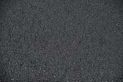 New paved road surface asphalt background Stock Photos