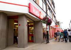 Stock Photo of LONDON - SEPTEMBER 5TH: The exterior of an Iceland supermarket on September t
