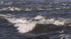 Strong rapids in Gatineau waters. Stock Footage