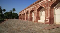 Humayun's Tomb, New Delhi, India Stock Footage