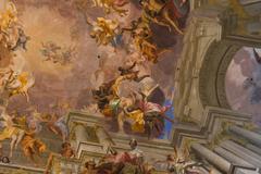 ROME - JANUARY 24TH: Basilica Di S. Ignazio on the 24th of January 2014 in Ro - stock photo