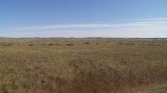 Sprawling plains in Saskatchewan. Stock Footage
