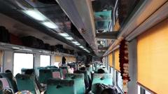 Bhopal Shatabdi Express Train Stock Footage