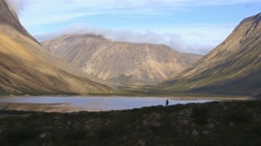 Landscape of Torngat Mountains. Stock Footage