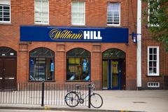 Stock Photo of LONDON - SEPTEMBER 5TH: The exterior of a william hill betting shop on Septem
