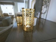 Stock Illustration of Decorative candle holder