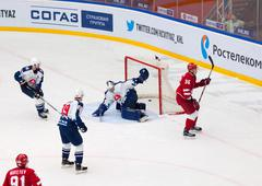 A. Nikulin score Stock Photos