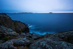 Archipelago dawn Stock Photos