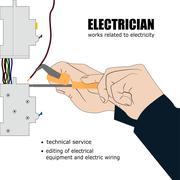 Electric Stock Illustration