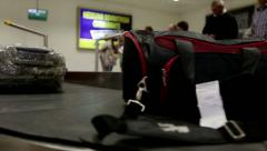 Arrival at the airport. Stock Footage