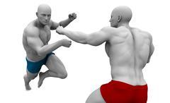 Stock Illustration of Martial Arts