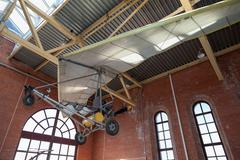 Powered hang glider at the technical museum in Togliatti, Russia Kuvituskuvat