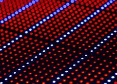 Led light background Stock Photos