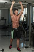 Abs Exercise For Six Pack - stock photo