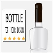 Bottle for your design Stock Illustration