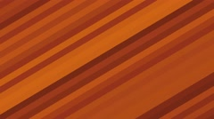 Geometric abstract line fractal background loop orange - stock footage