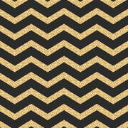 Classic chevron stripe glitter shimmer seamless vector pattern - stock illustration
