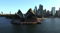 Sydney Opera House Sunset Stock Footage
