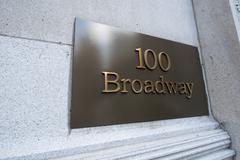 Broadway street sign in New York Kuvituskuvat
