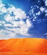 Beautiful desert landscape Kuvituskuvat