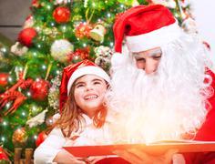 Magical Christmas story - stock photo