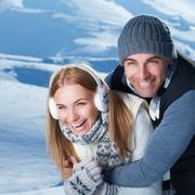 Happy winter holidays - stock photo