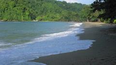 Scenic view of a beach, Trinidad, Trinidad And Tobago Stock Footage