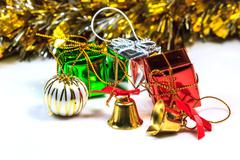 Christmas or New Year background Stock Photos