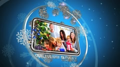 Rotating Christmas Photo FX - stock after effects
