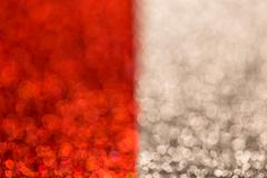 Festive Christmas background. Abstract twinkled bright background with bokeh  Stock Photos