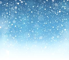 Abstract snow theme background - eps10 vector illustration. - stock illustration