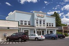 The Cooks Nook shop in Sisters Deschutes County Oregon United States North - stock photo