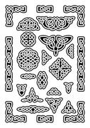 Celtic Knots Collection Stock Illustration