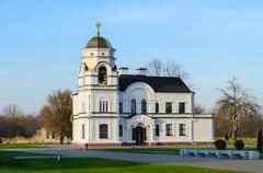 Church House beginning of the XX century, Brest, Belarus Stock Photos