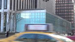 Old FAO Schwartz Building Location   Stock Footage
