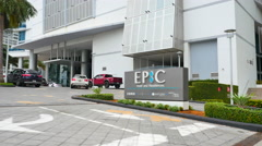Stock Video Footage of Epic Hotel and Residences