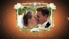Fancy Frames Wedding Montage - stock after effects