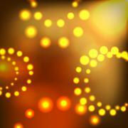 Abstract Magic Light Background Vector Illustration - stock illustration