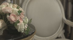 The bride's bouquet Stock Footage