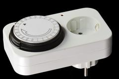 Timer Switch - stock photo