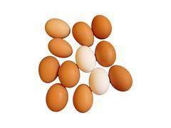 Eggs to eat Stock Photos