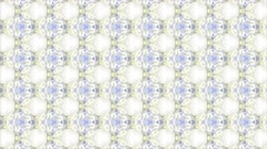 white shade abstract Kaleidoscope - stock footage
